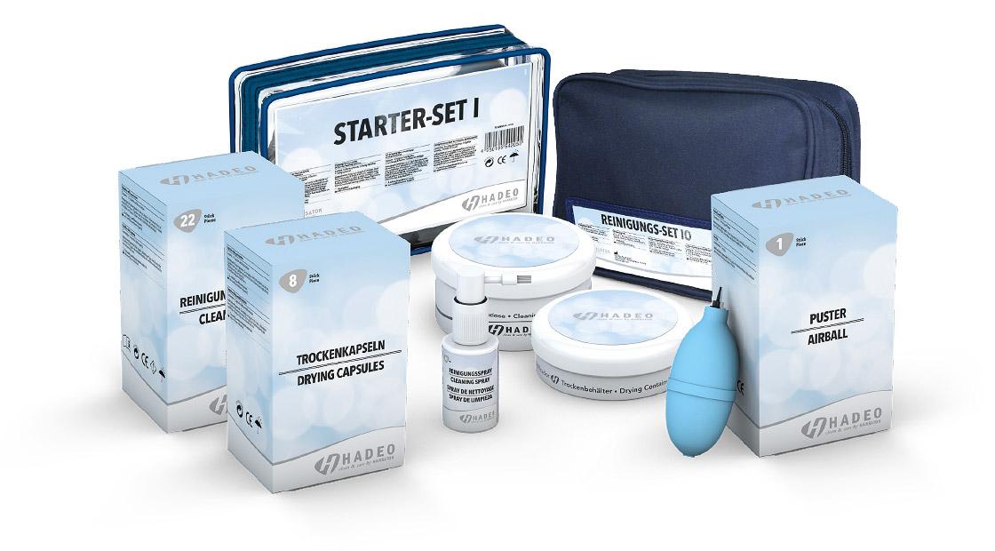 Reinigung und Pflege - Starter-Set und Zubehör