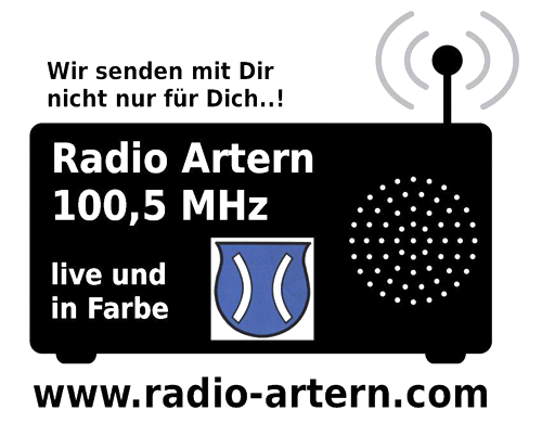 Logo Radio Artern 100,5 MHz
