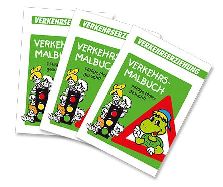 Verkehrsmalbuch für die Adolph-Diesterweg-Grundschule Sömmerda