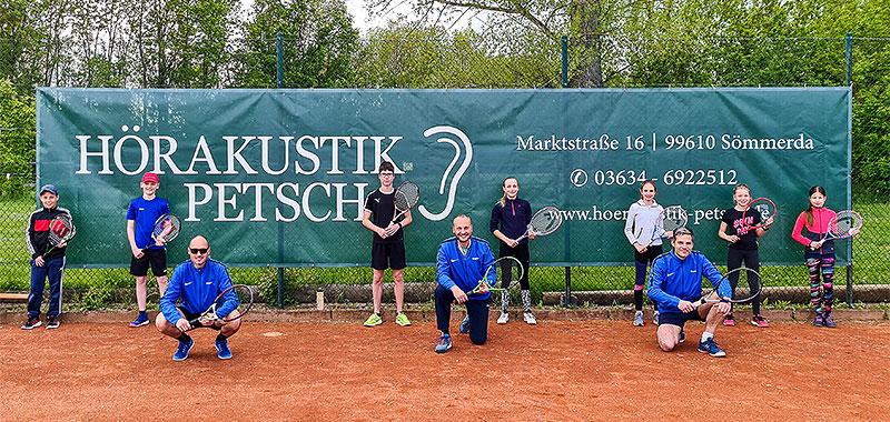 Hörakustik Petsch - Werbeplane Tennisverein Wundersleben e.V.